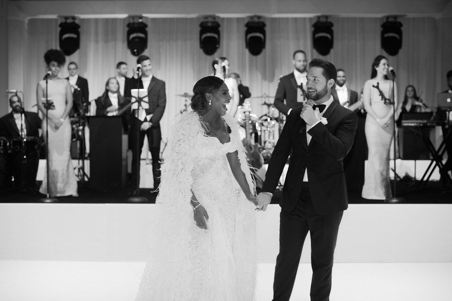 Serena Williams and Alexis Ohanian Wedding November 16th 2017 in New Orleans #bwwm#interracial