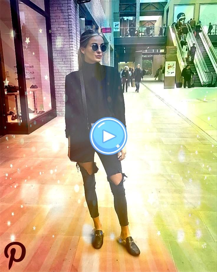 black outfits in 2019 all black outfits in 2019all black outfits in 2019 Casual city style for this winter day Loving these over the knee boots Over the knee boot outfit...