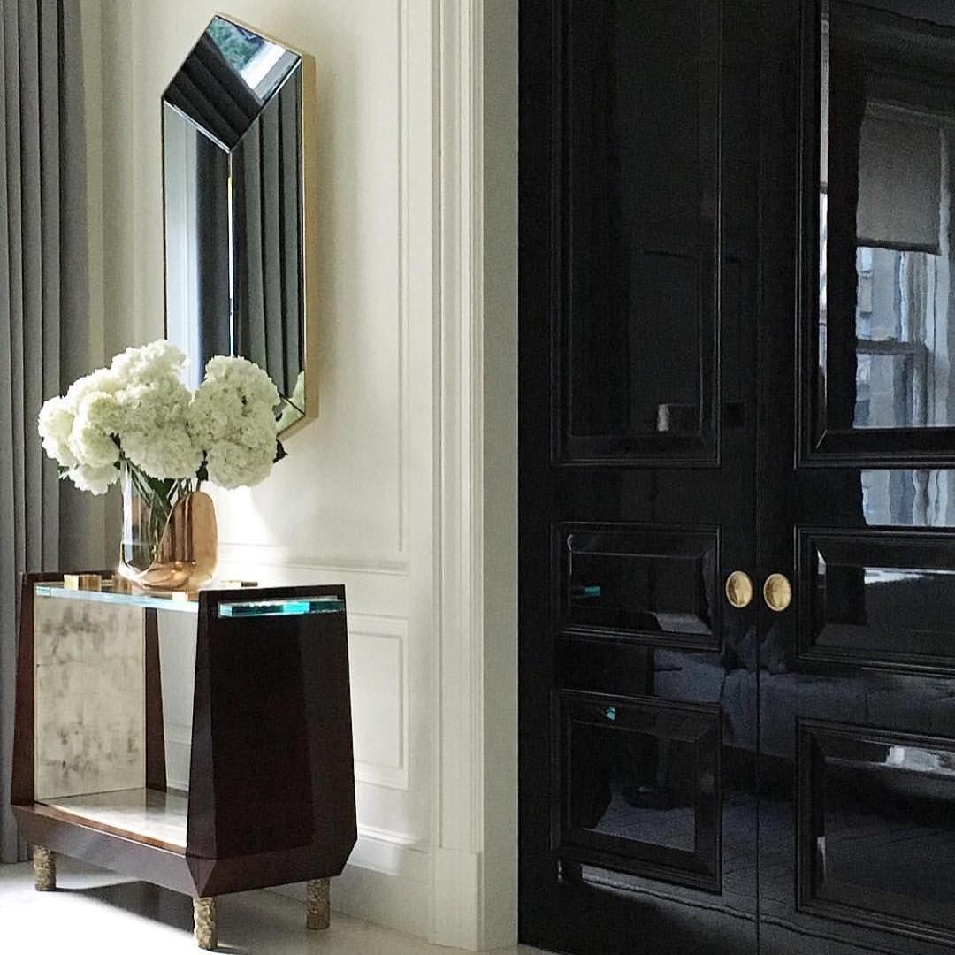 Luxury Foyer Interior Design: Bedroom Doors, Black Doors
