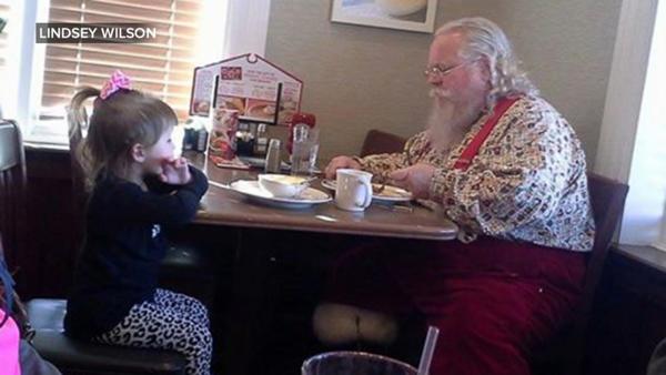 Gracie Lynn Wilson Didn't Want Santa Claus to Eat by Himself