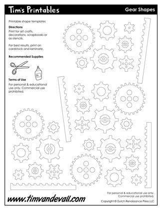 photograph relating to Free Printable Gear Template called Products Templates Printable Sticker Sheets inside of Black White