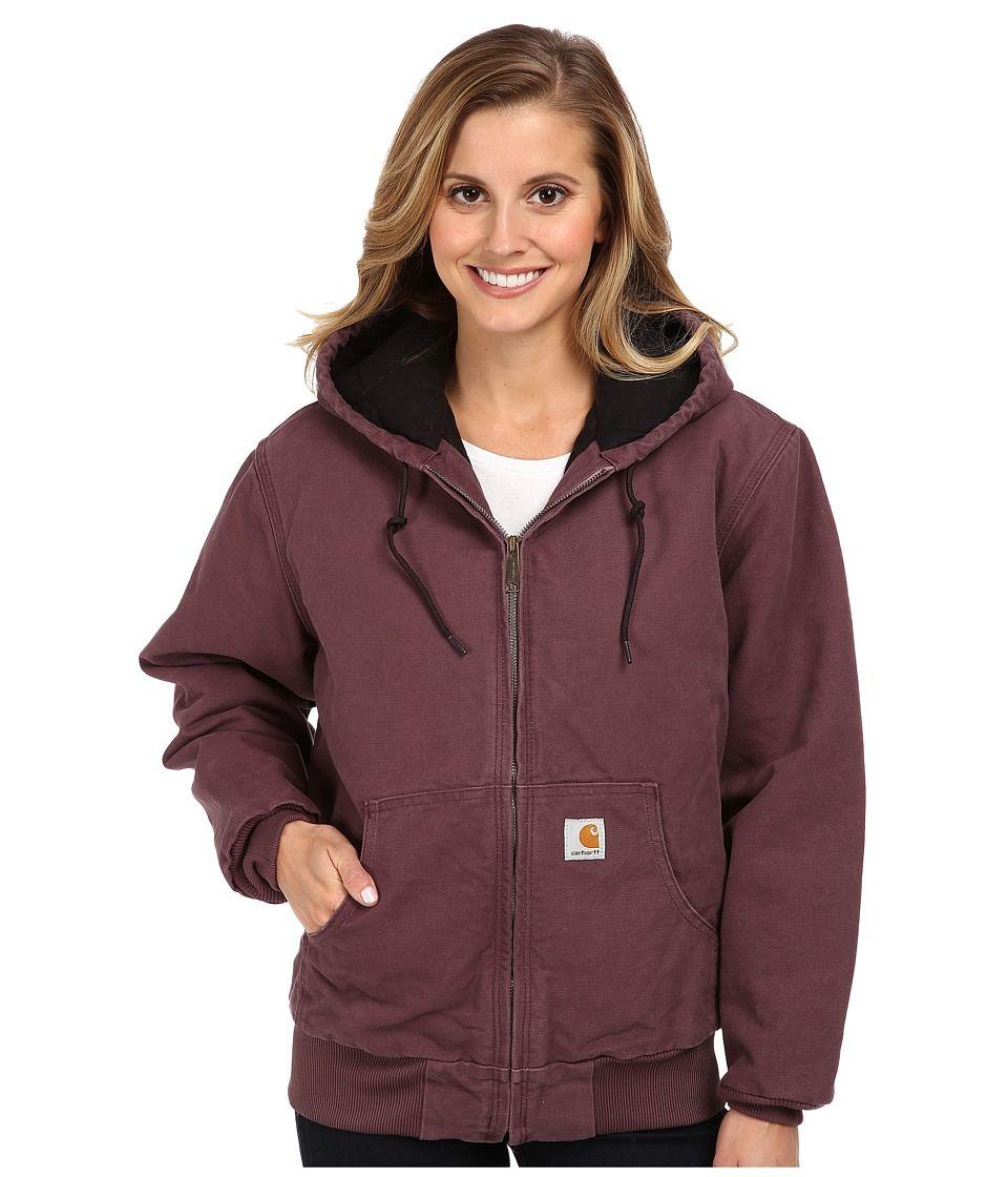 Carhartt Carhartt Sandstone Active Jacket Dusty Plum Women S Coat Carhartt Cloth Active Jacket Jackets Active Wear For Women [ 1120 x 960 Pixel ]