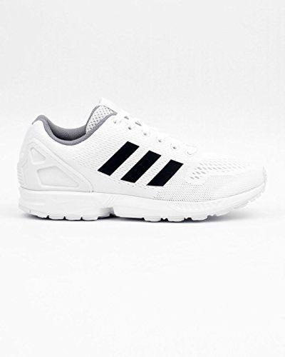 ZX Flux, Baskets Basses Homme, Noir (Core Black/Core Black/Footwear White), 38 EUadidas