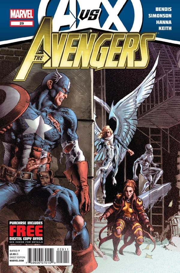 Avengers Vol. 4 # 29 by Mike Deodato Jr.