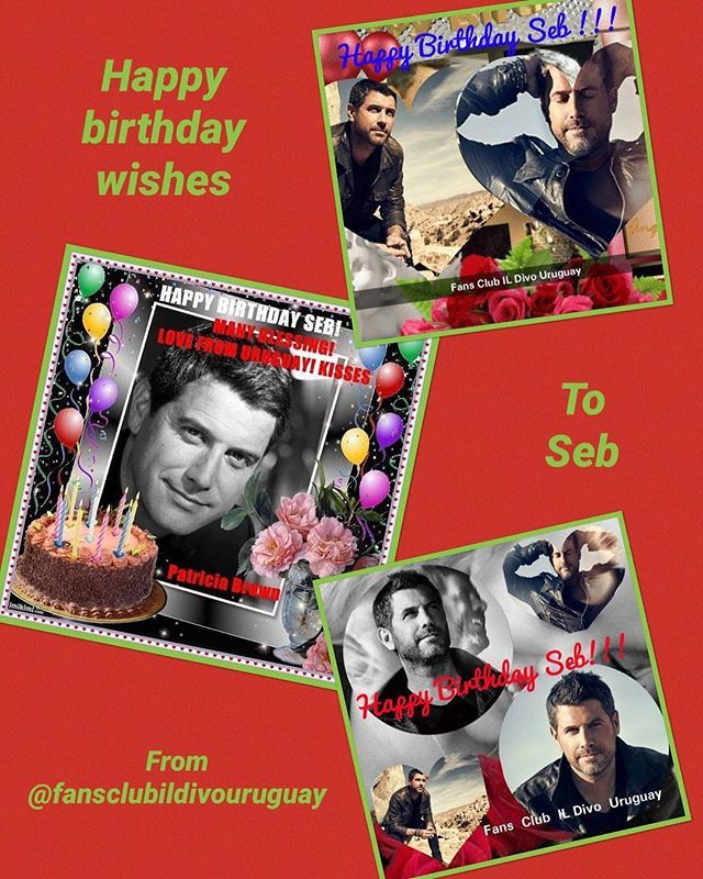 Three Happy birthday wishes for Séb from