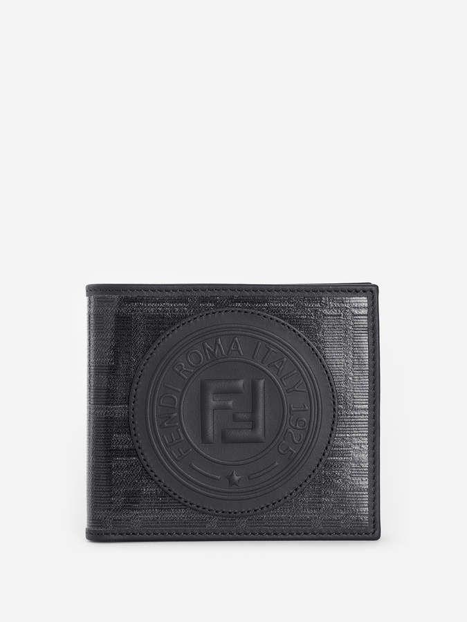 d1f9335c0c Fendi BLACK FABRIC BI-FOLD WALLET in 2019 | Products | Fendi, Wallet ...