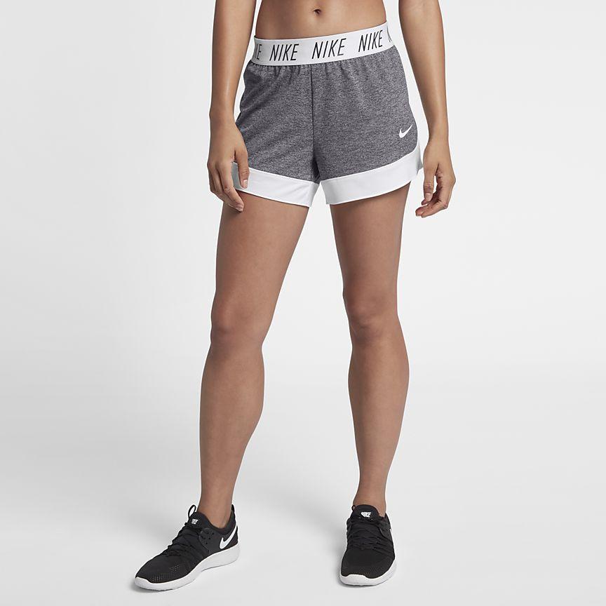 Nike drifit womens 4 training shorts fit women