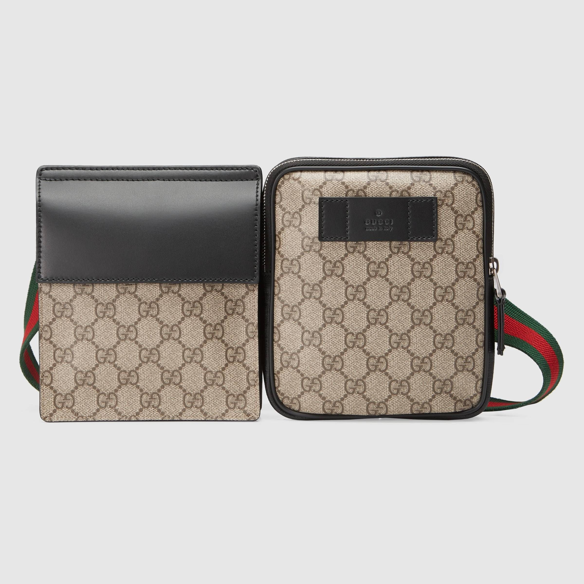 786ad8623763 GG Supreme belt bag - Gucci Women's Luggage & Lifestyle Bags 450956K6RHX9678