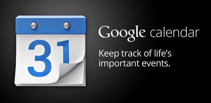 تطبيق Google Calendar لانظمة  أندرويد و IOS يتيح للمستخدم تتبع  أهدافه ومهامه والوصول لتحقيقها