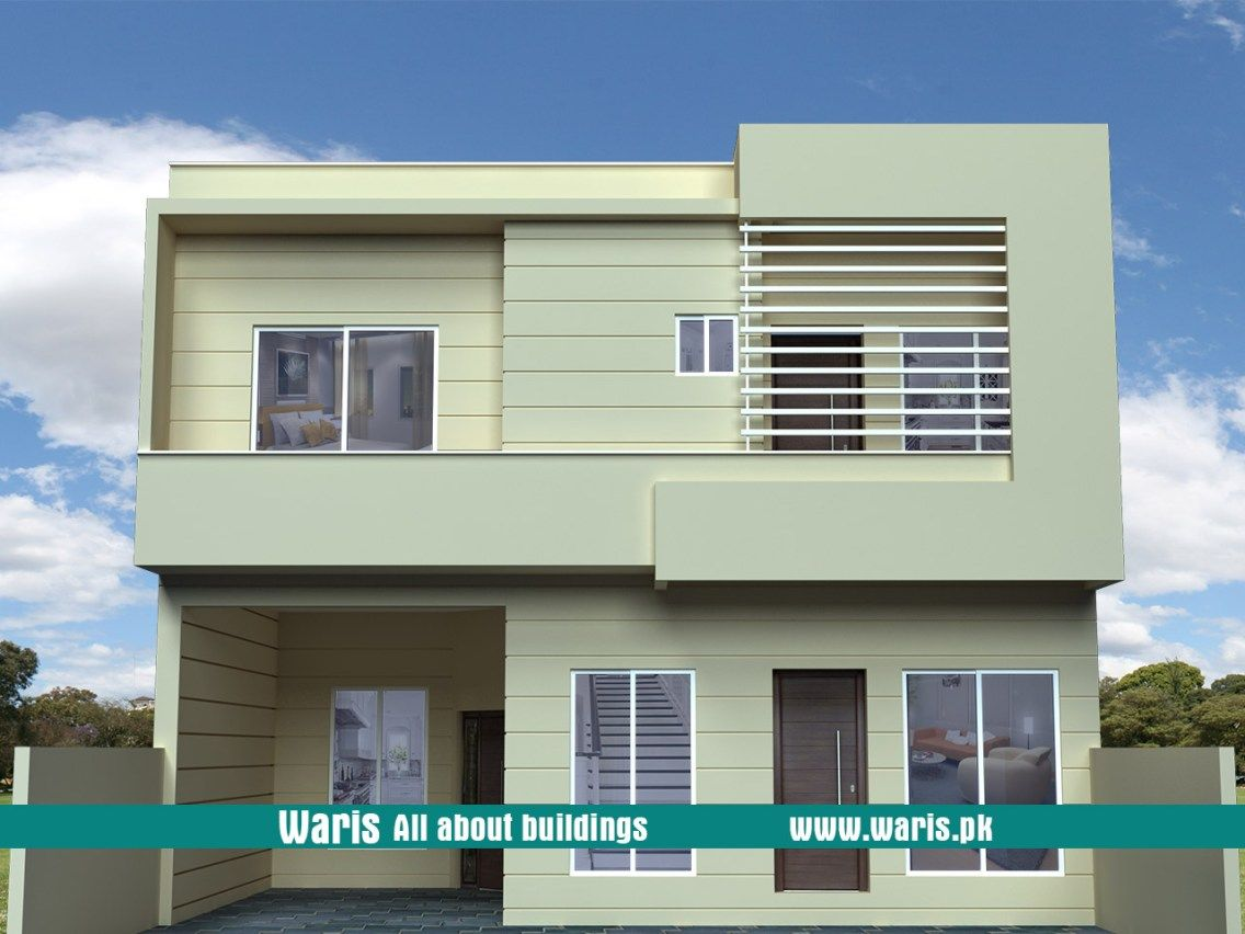Waris marla house  view elevation  in islamabad pakistan also rh pinterest