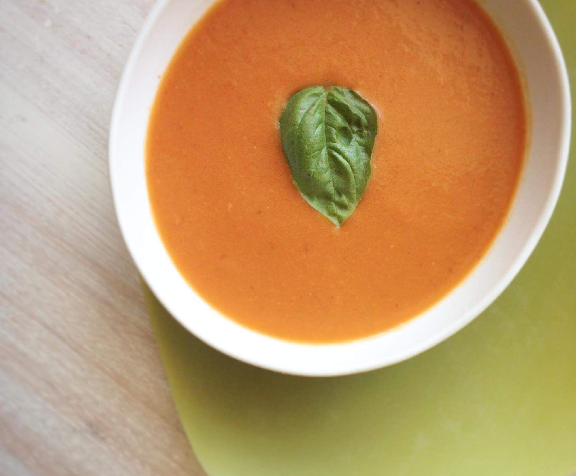 Rezept Tomatensuppe von frischen Tomaten von diana-creates - Rezept der Kategorie Suppen