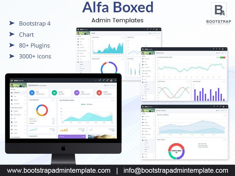 Amazing Alfa Boxed Dashboard Admin Templates And Admin Panel Templates Ecommerce Template Admin