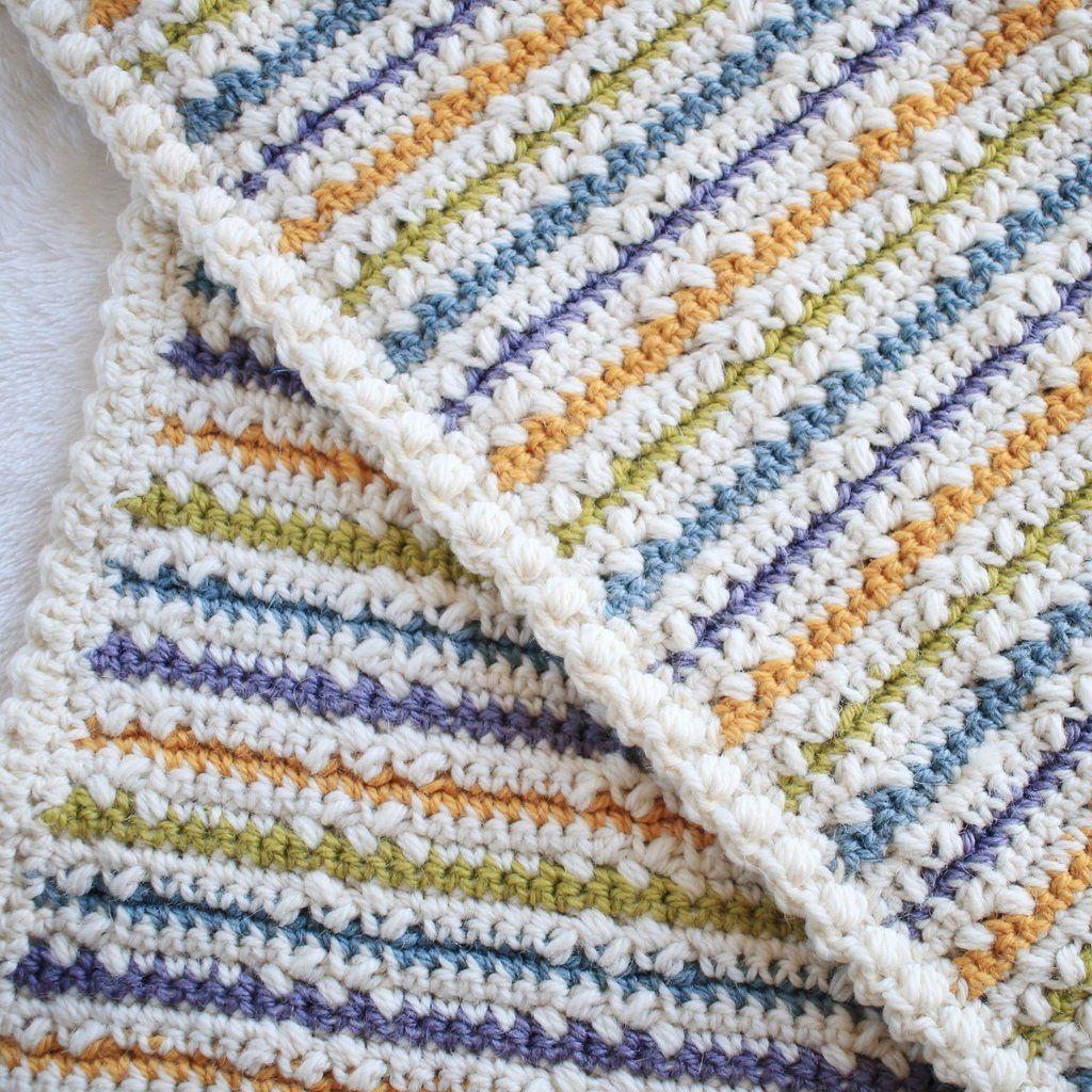 Crochet Pattern - Wundran Baby Blanket - PWundran | Mantas de ...
