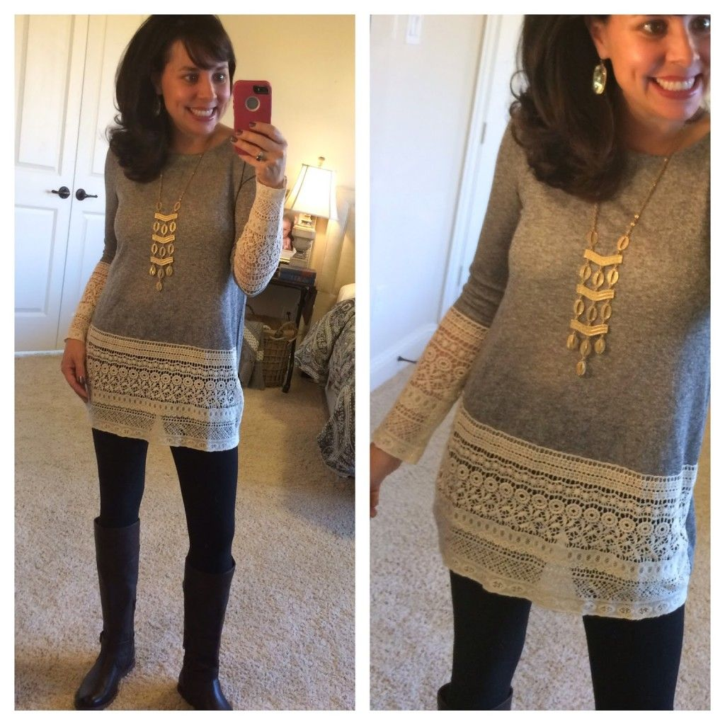 e90aa3b0dc1 COVER YOUR CROTCHAL AREA Part II! :) This post has lots of great tunic  options that are long enough to wear with leggings!!!!… | Sheaffer Told Me  To!