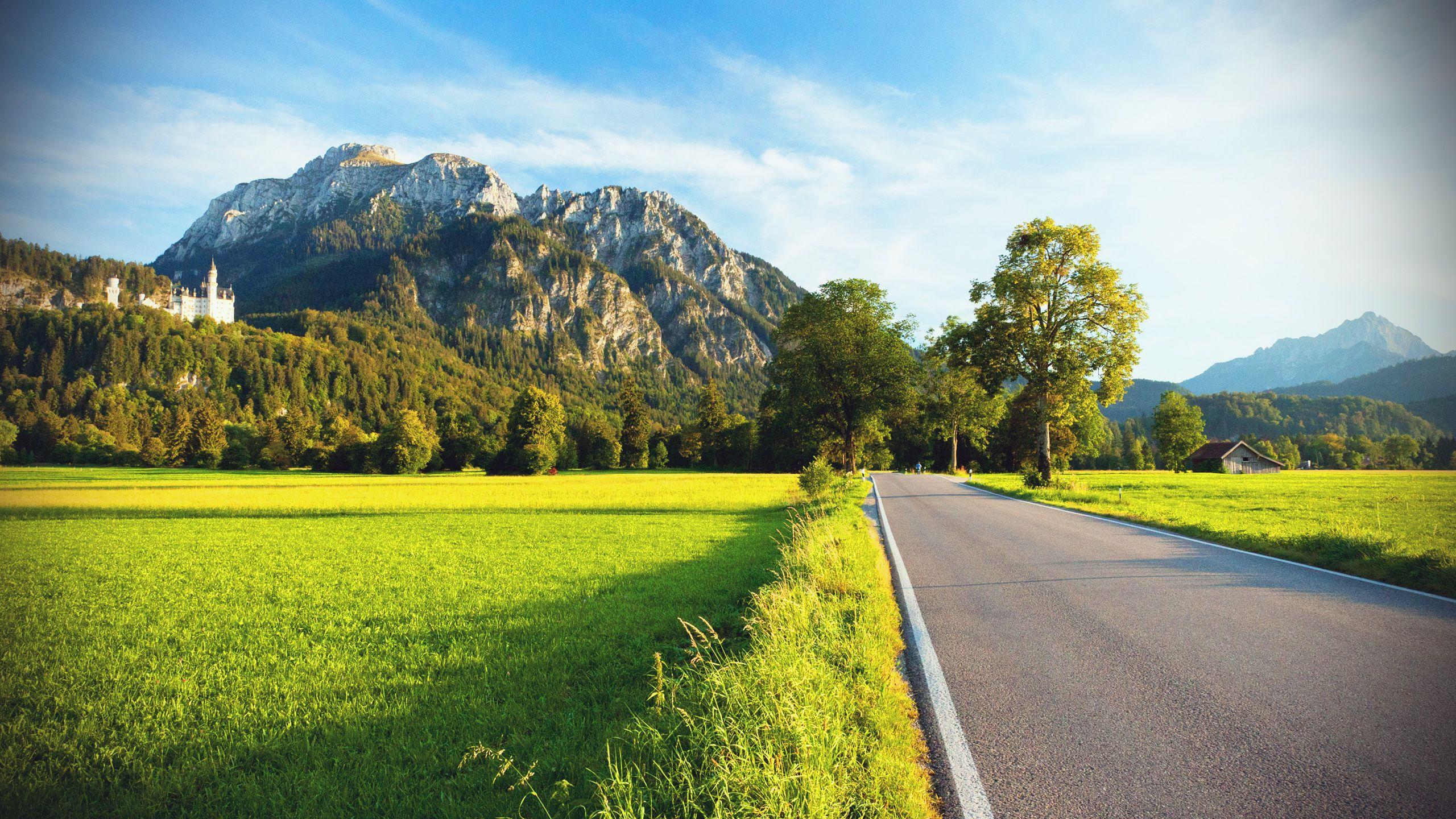 View Hd Wallpaper 2560x1440 27516 Beautiful Landscape Wallpaper Scenery Wallpaper Landscape Wallpaper