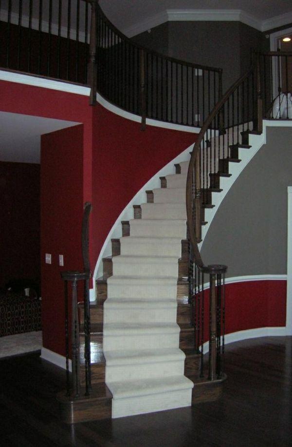 Wohnzimmer Farbideen - die verschidenen Optikeffekte Pinterest - bilder wohnzimmer rot