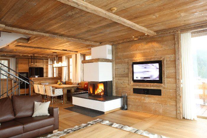 Wohnzimmer Oesterreich Style : Maierl chalets Österreich einrichtung alpin style