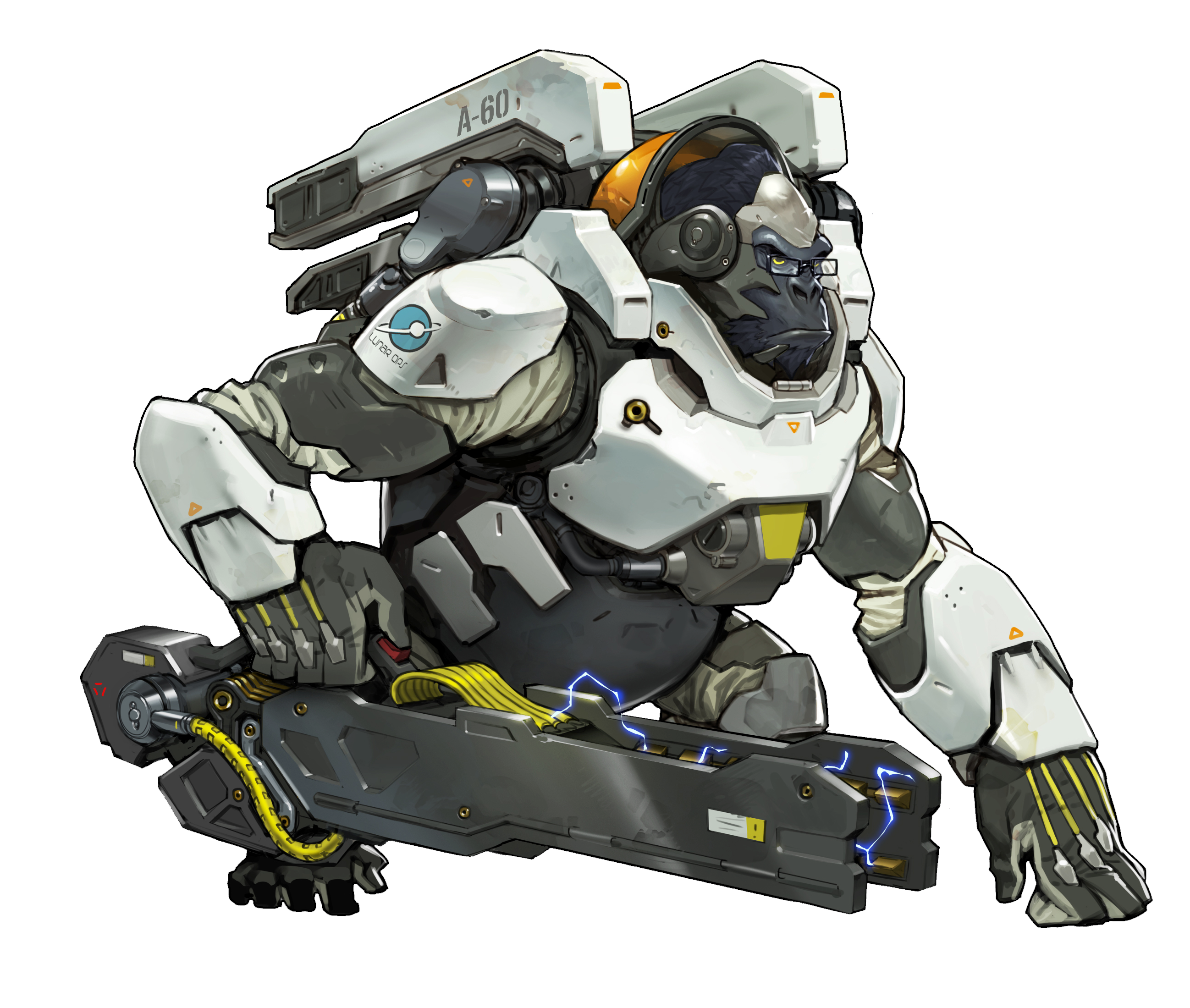 Overwatch Character Art Overwatch Winston Overwatch Concept Art Characters