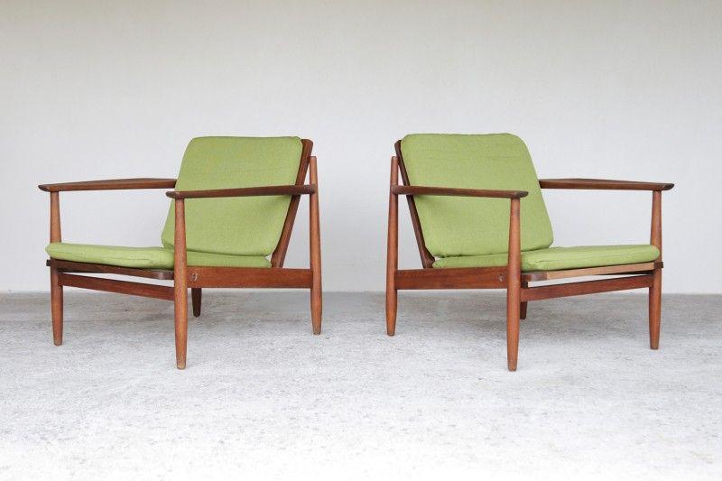 fauteuil scandinave vintage design - Fauteuil Scandinave Vintage