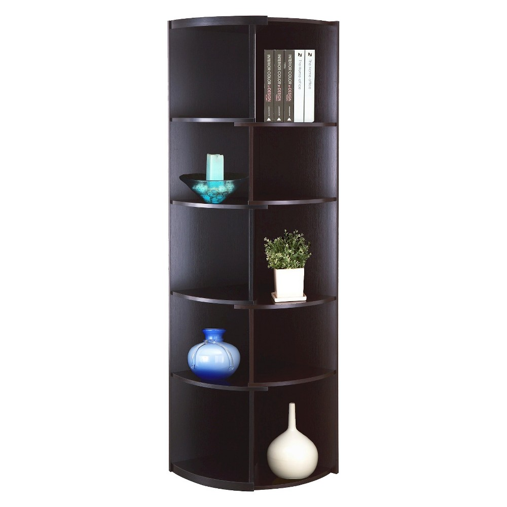 Greco 71 Corner Bookcase Homes Inside Out Products