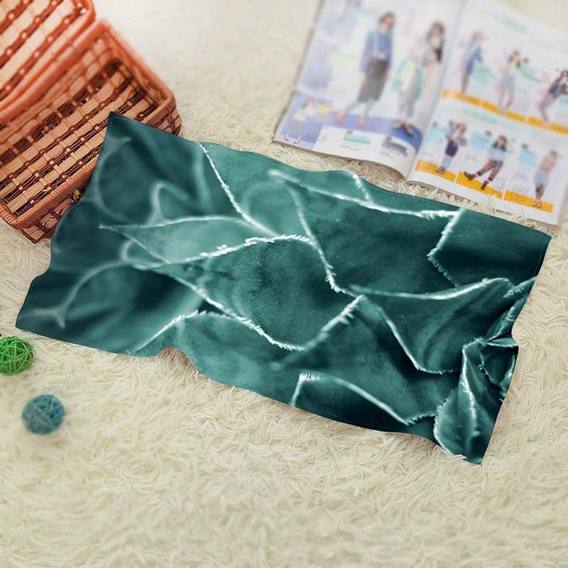 Plant  Vintage Baby Batoom Textil Washcloth Swimwear Shower Best ift 1 Face Towel