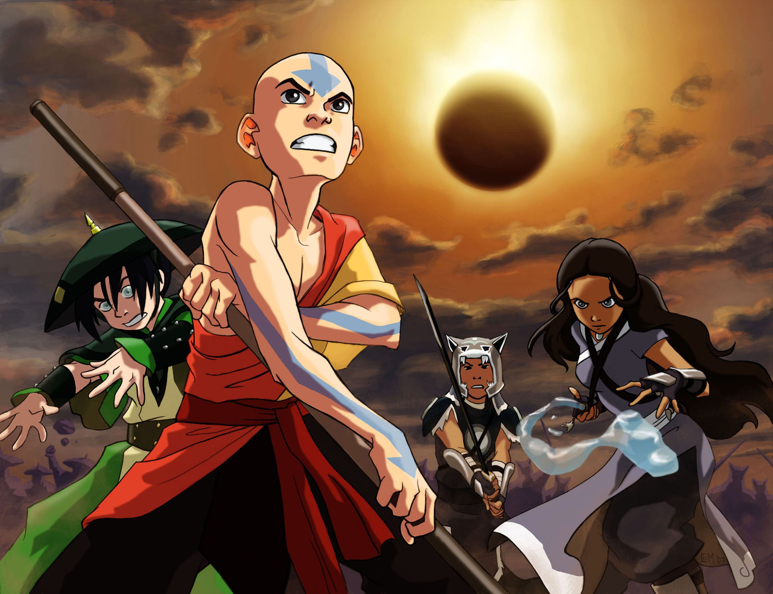 Exciting Avatar The Last Airbender Wallpapers