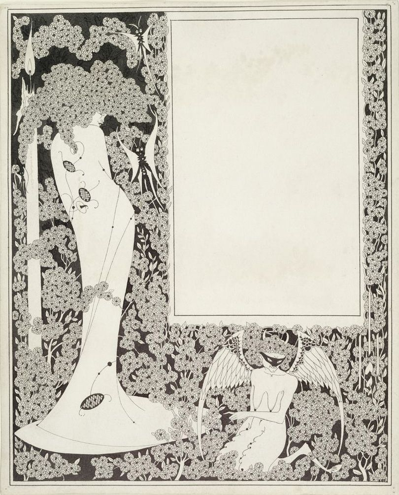 3 Repro Art Nouveau Prints by Aubrey Beardsley please see scans