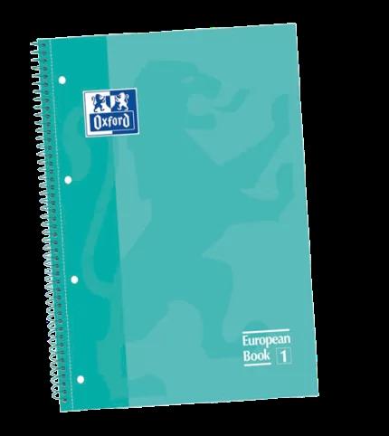 Caderno Executivo Espiral Capa Dura 1x1 80 Folhas Canson Oxford Europeanbook 1 Icemint Caderno Oxford Oxford Caderno