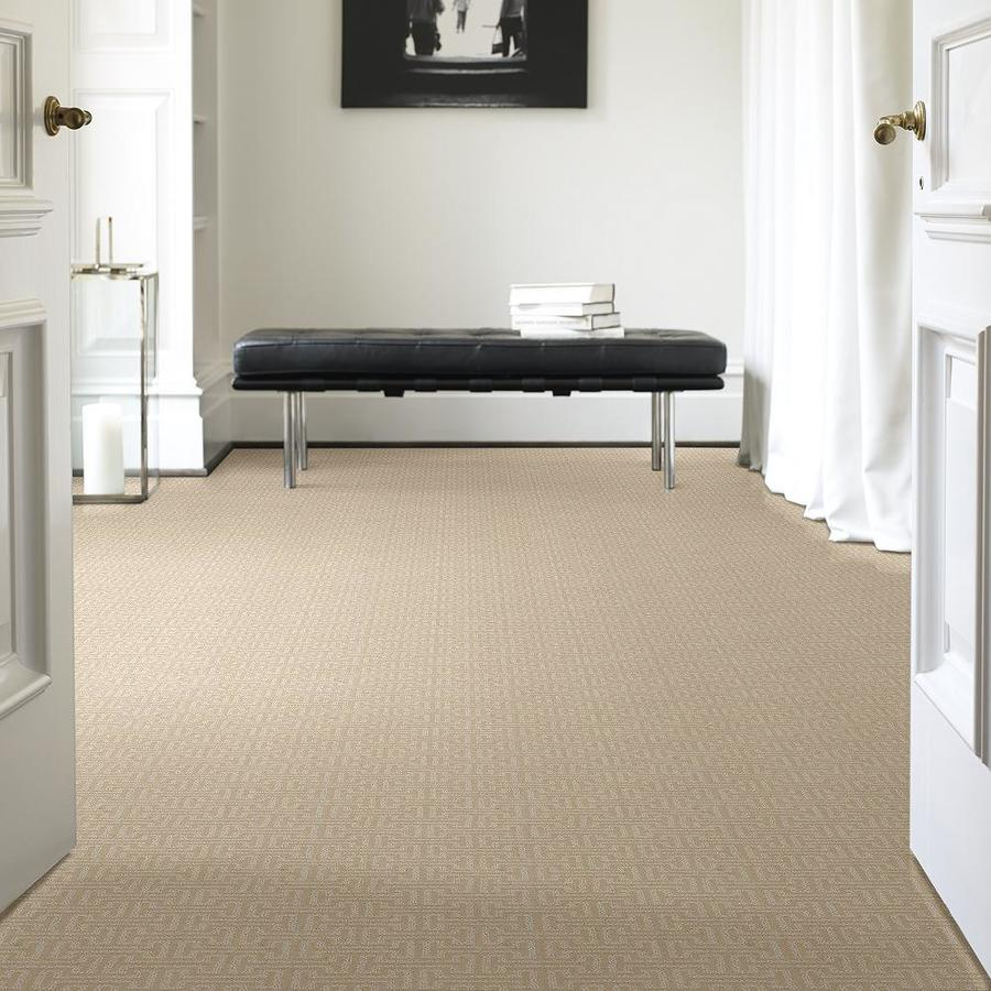 Stainmaster Petprotect Belle 12 Ft Berber Loop Interior Carpet At Lowes Com Round Carpet Living Room Round Carpets Flooring Near Me