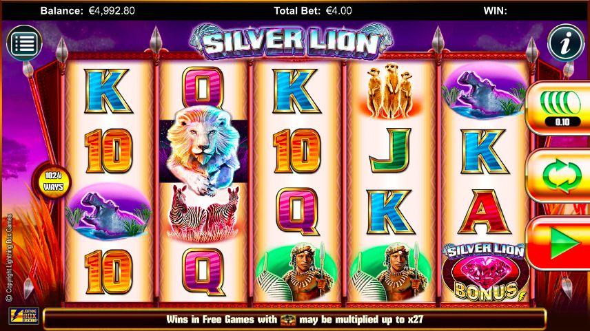 New Silver Lion Slot