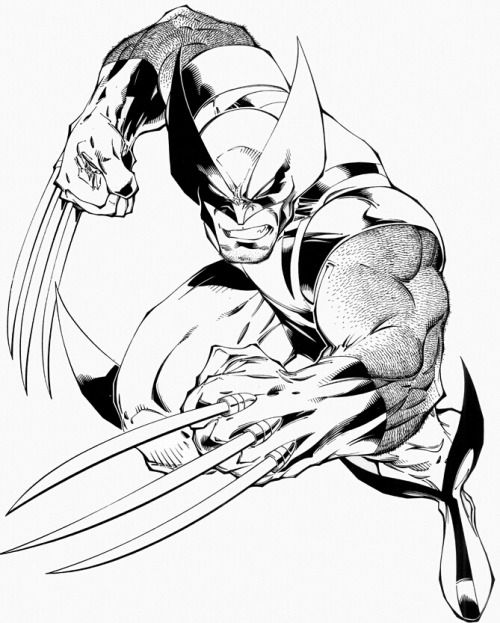 Wolverine by Joe Madureira | Joe Madureira | Pinterest | Colorear ...