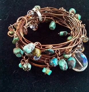 copper and turquoise!