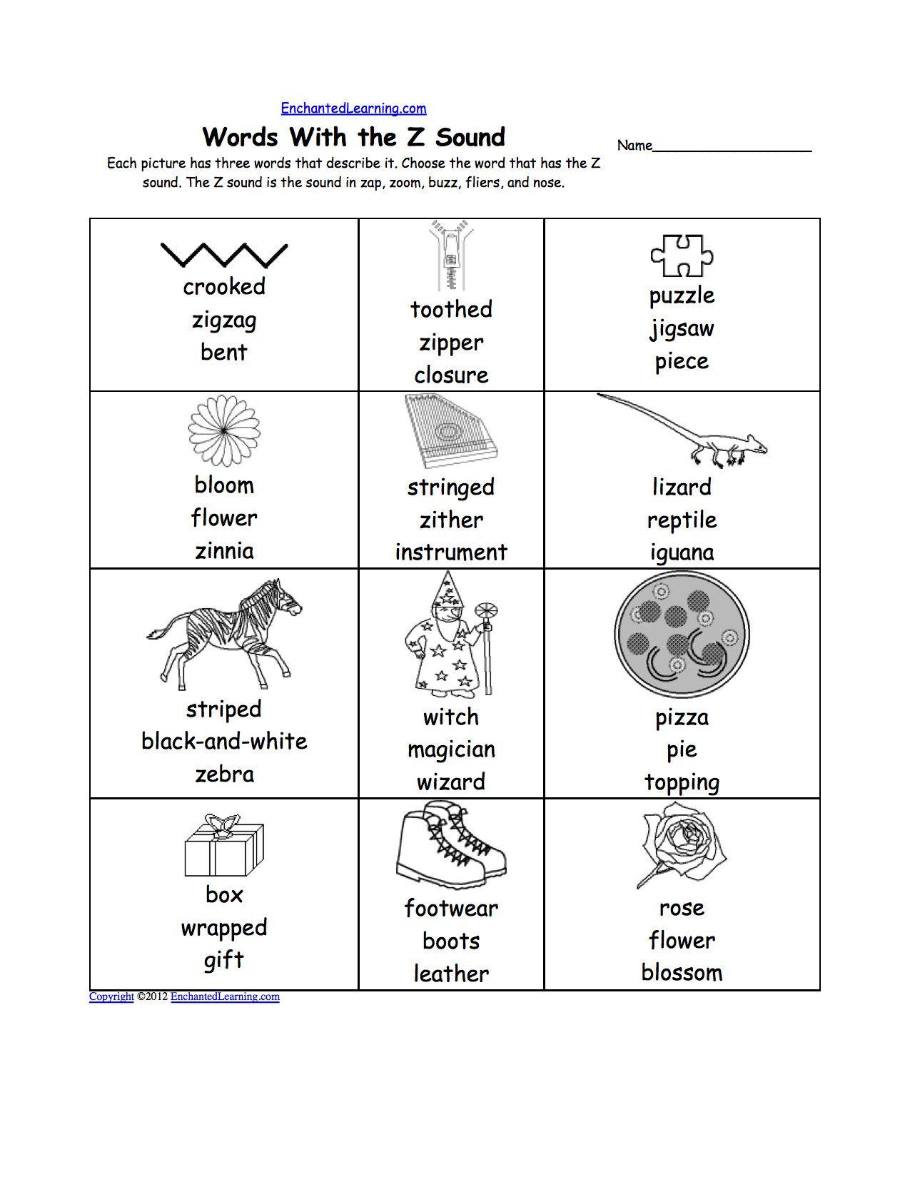 9 Worksheets Rhyming Words Ot In