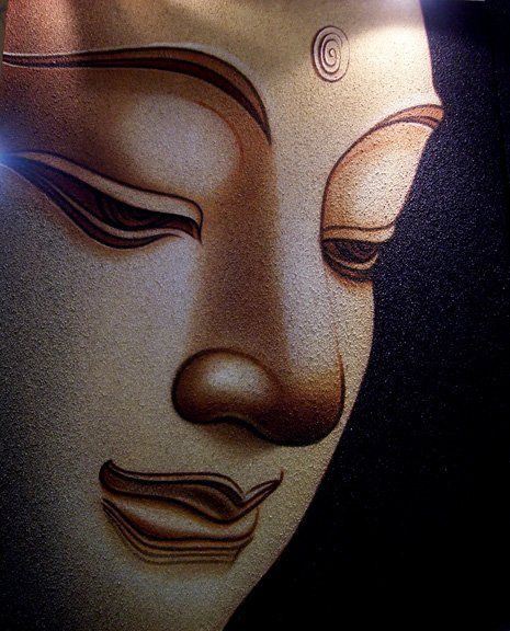 Image detail for -Buddha Face Oil Painting products, buy Buddha Face Oil Painting ...