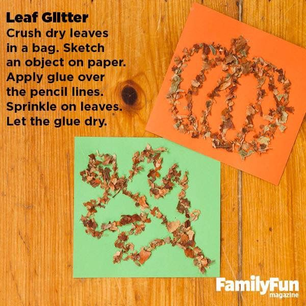 Perfect for s fall craft!