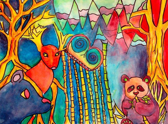 Sand Creek Star Gallery: Biodiversity Artwork from Sand Creek's Star Art Club!
