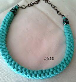 Las cosinas de Sassi: collar de trapillo