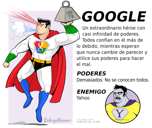 Servicios en Internet como Superheroes