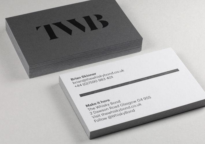 The Whisky Bond Business Card Design Inspiration Card Nerd Business Card Inspiration Business Card Branding Business Card Design