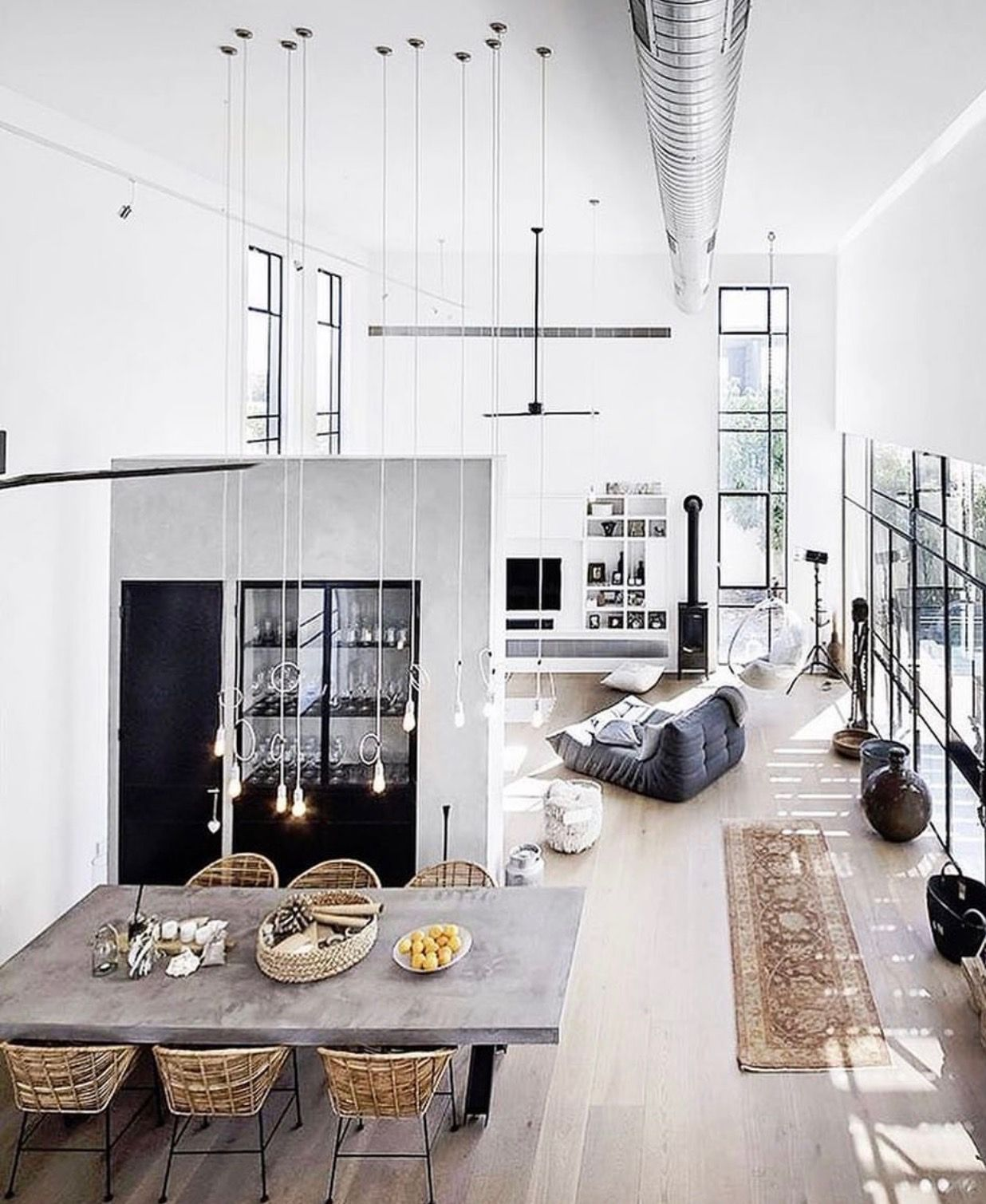 Open-plan living. For more, visit houseandleisure.co.za | living ...