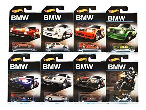 2016 Hot Wheels Bmw 100th Anniversary Exclusive Series Complete