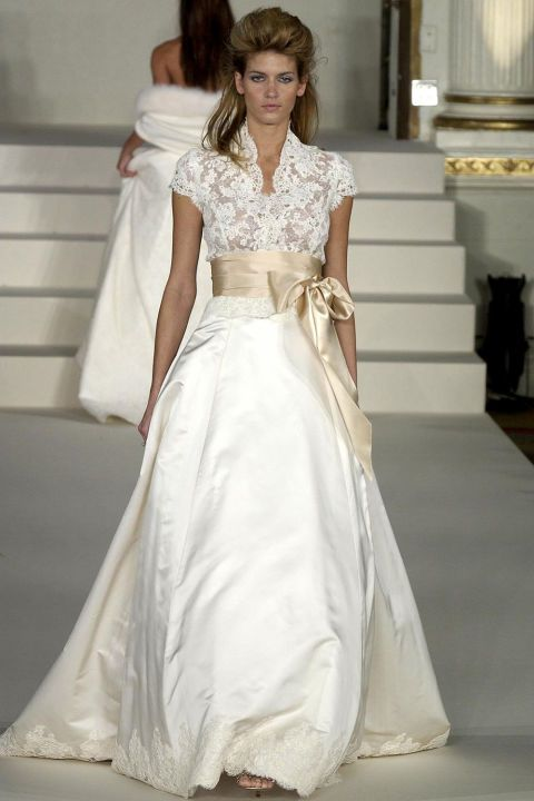Monique Lhuillier Looks Back On 20 Years of Bridal Fashion ...