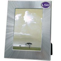 LSU Tigers 5x7 Picture Frame | Heritage Pewter