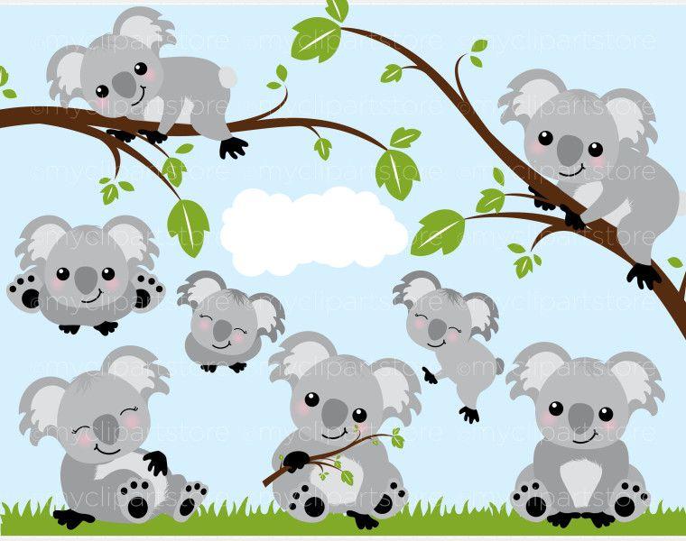 Koala Bears Clipart Myclipartstore Koala Bear Baby Koala Koala
