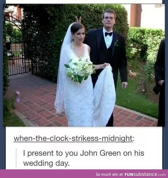 john green wedding