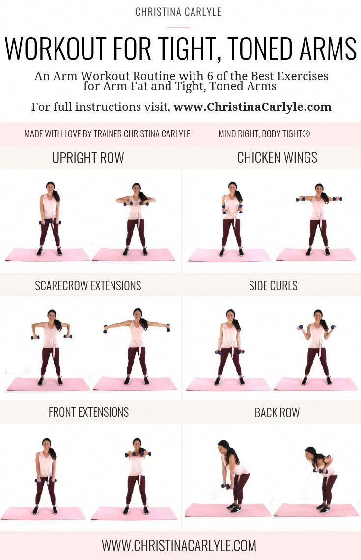 Arm Fat Workout for Tighter, Toned Arms ASAP