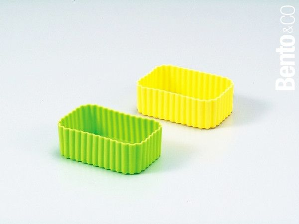 Silicone cup - square | Bento
