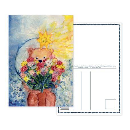 """Postkarte «Sternbär Smiles» // """"Sternbär Smiles"""" Postcard"""
