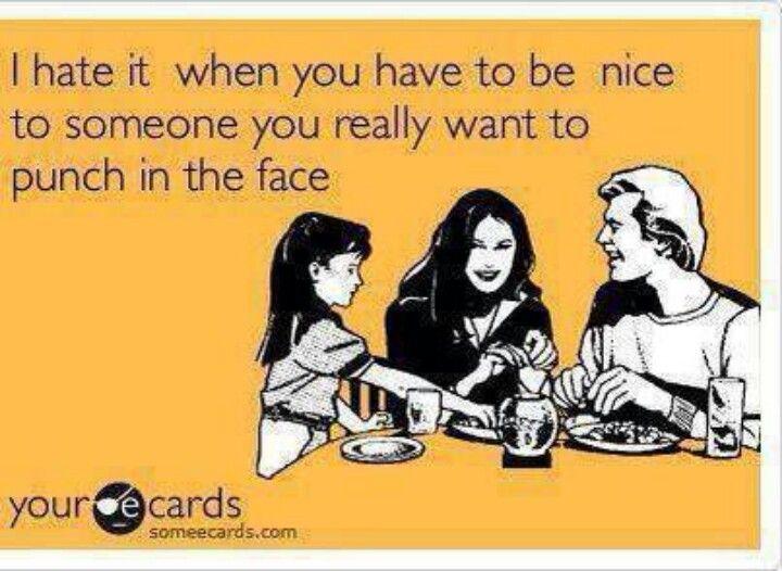 Hate it when...
