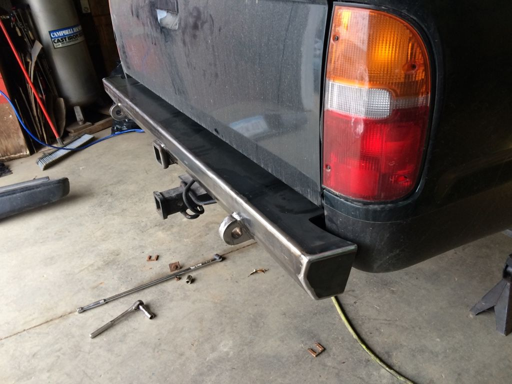 1st Gen Plate Rear Pers Welded Or Diy Tacoma World Forums